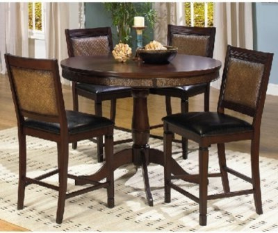 Progressive Furniture Kingston Isle Round Counter Height Pertaining To Well Liked Abby Bar Height Dining Tables (View 21 of 25)