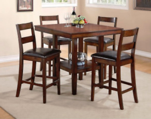Recent Adejah 35'' Dining Tables Within Nolita 7 Piece Counter Height Dining Package (View 12 of 25)