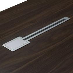 """Recent Denmark Executive L Shape Left Return Desk Set, American Intended For Dionara 56"""" L Breakroom Tables (View 16 of 25)"""