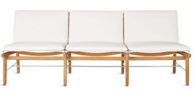 Recent Finn Three Seater Sofa Solid Sustainably Harvested Teak With Regard To Naz (View 25 of 25)