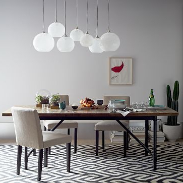 """Recent Hetton 38'' Dining Tables Regarding Emmerson Industrial Expandable Dining Table #westelm 72""""w (View 11 of 25)"""