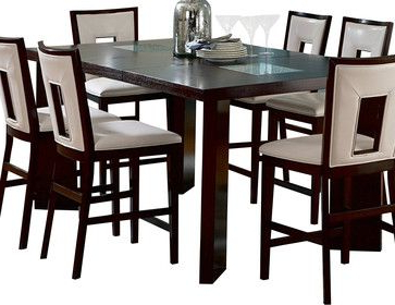 Recent Mciver Counter Height Dining Tables With Regard To Steve Silver Delano 60x44 Counter Height Table – Dining (View 2 of 25)