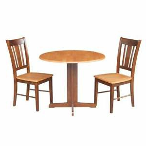 Recent Menifee 36'' Dining Tables Intended For International Concepts Dual Drop Leaf 36 Inch Dining Table (View 4 of 25)