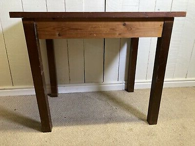 Recent Solid Pine Small Kitchen Table Dining Table (View 8 of 25)