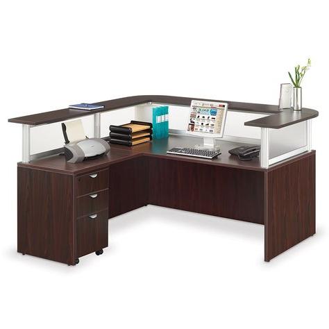 "Reception Desk, Nurse Office Inside Latest Dionara 56"" L Breakroom Tables (View 2 of 25)"