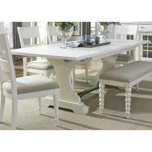 Rectangle Dining Table, Trestle (View 18 of 25)