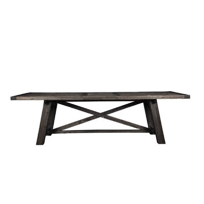 Rhiannon Poplar Solid Wood Dining Tables Regarding Fashionable 8 + Seat Large Kitchen & Dining Tables You'll Love In (View 7 of 25)