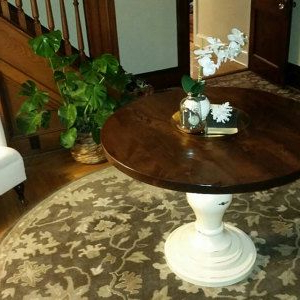 Rhiannon Poplar Solid Wood Dining Tables With Regard To Preferred Hand Crafted Farmhouse Table (View 22 of 25)