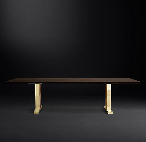 Rh's Drake Live Edge Rectangular Dining Table With Regard To Best And Newest Steven 39'' Dining Tables (View 2 of 25)