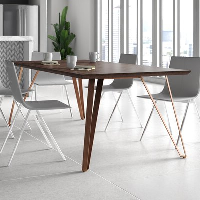 Rishaan Dining Tables Pertaining To Recent 8 + Seat Modern & Contemporary Kitchen & Dining Tables You (View 13 of 25)