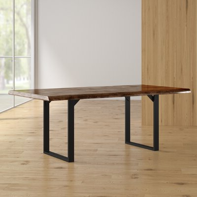 Rishaan Dining Tables Regarding Latest 8 + Seat Rustic & Farmhouse Kitchen & Dining Tables You'll (View 2 of 25)