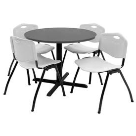 Round Breakroom Tables And Chair Set Inside 2019 Tables (View 21 of 25)