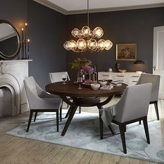 Round Dinning Table Pertaining To Preferred Jazmin Pedestal Dining Tables (View 23 of 25)