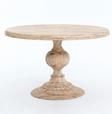 Round In Most Up To Date Exeter 48'' Pedestal Dining Tables (View 17 of 25)