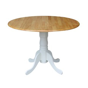 Round White Kitchen & Dining Tables You'll Love (View 4 of 25)
