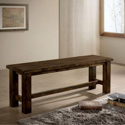 Rustic Dining Benches, Dining Inside Most Current Belton Dining Tables (View 20 of 25)