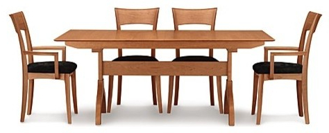 Sarah Trestle Extension Table, 72 X 38 Inches – Modern With Latest Bechet 38'' Dining Tables (View 7 of 25)