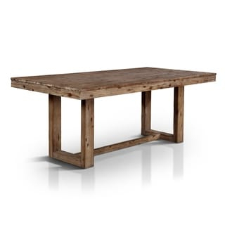 Shop Grain Wood Furniture Valerie 63 Inch Solid Wood With Most Popular Babbie Butterfly Leaf Pine Solid Wood Trestle Dining Tables (View 22 of 25)
