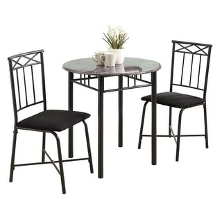 Shop Monarch Specialties I 3065 Three Piece Mdf Bistro In Latest Steven 39'' Dining Tables (View 12 of 25)