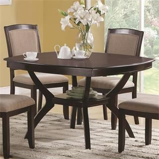 Square Dining Table Set, Dining Inside Favorite Servin 43'' Pedestal Dining Tables (View 3 of 25)