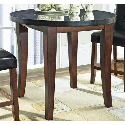Steve Silver Granite Bello Round Counter Height Table (View 19 of 25)