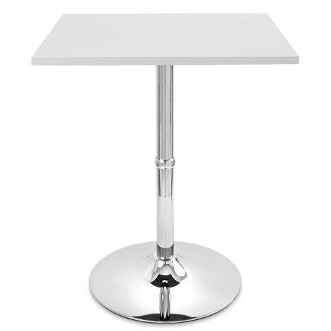 Steven 55'' Pedestal Dining Tables With Most Popular Soho Square Dining Table White – Atlantic Shopping (View 14 of 25)