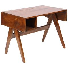Stylish Office Desk In Solid Walnut Wood For Sale At 1stdibs Intended For Trendy Cammack (View 12 of 25)