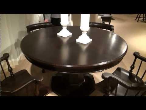 Summerglen Drive Adjustable Height Round Pedestal Dining Regarding Famous Charterville Counter Height Pedestal Dining Tables (View 24 of 25)