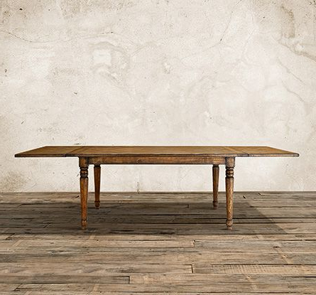 """Sylvie 70"""" X 38"""" Extension Dining Table In Milled Pine With Trendy Hetton 38'' Dining Tables (View 3 of 25)"""