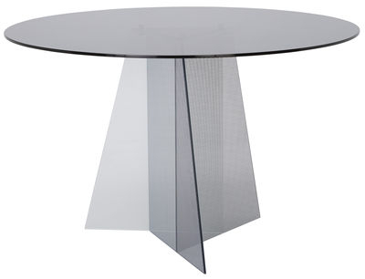 Table Trace / Ø 120 Fumé – Tom Dixon Pertaining To Most Recent Dixon 29'' Dining Tables (View 14 of 25)