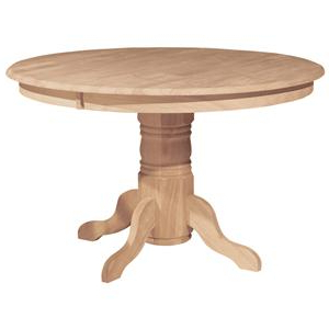 """Tabor 48'' Pedestal Dining Tables Throughout Newest John Thomas Select Dining 48"""" Round Pedestal Table (View 9 of 25)"""