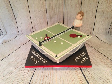Tennis Cake, Table Tennis, Cake With Regard To Yonkers (View 3 of 4)