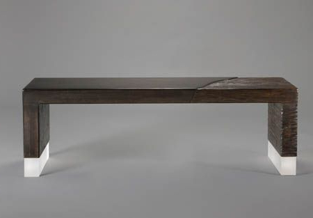 """The """"alluvium"""" Bench Love The Different Textures Throughout Newest Lewin Dining Tables (View 15 of 25)"""