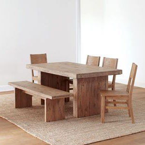 Tradesman Extension Table At World Market – Handcrafted In With Well Known Rhiannon Poplar Solid Wood Dining Tables (View 19 of 25)