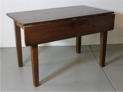 Trendy Adams Drop Leaf Trestle Dining Tables In Small Drop Leaf Table In Oak – Farmhouse – Dining Tables (View 18 of 25)