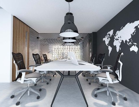 """Trendy Dionara 56"""" L Breakroom Tables With Pinseeyond: Architectural Solutions On Modern Office (View 23 of 25)"""