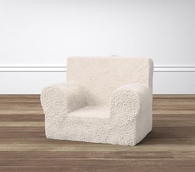 Trendy Hunsicker Dining Tables In My First Cream Sherpa Anywhere Chair® (View 4 of 20)