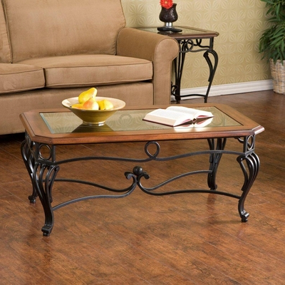 Trendy Prentice Cocktail Table – Holly And Martin – Prentice Within Deonte 38'' Iron Dining Tables (View 14 of 25)