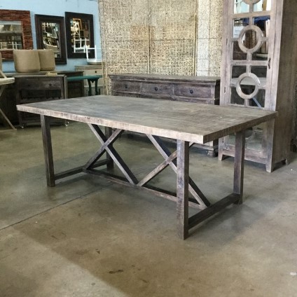 Trestle Dining Table – Nadeau Memphis With Recent Alexxes 38'' Trestle Dining Tables (View 6 of 25)