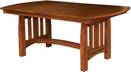 Trestle Dining Tables, Amish Throughout Leonila 48'' Trestle Dining Tables (View 2 of 25)