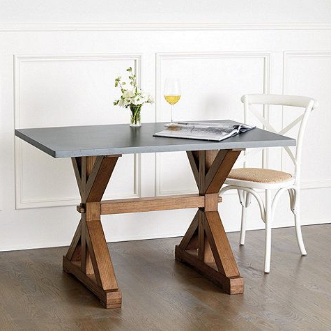 Trestle Dining Tables, Dining (View 10 of 25)