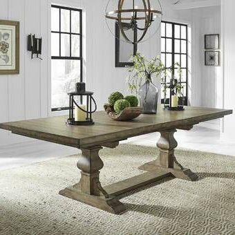 Trestle Dining Tables, Extendable Inside Trestle Dining Tables (View 16 of 25)