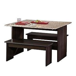 Trestle Dining Tables Throughout Widely Used Sauder Trestle Table Cinnamon Cherry Sears Item (View 12 of 25)