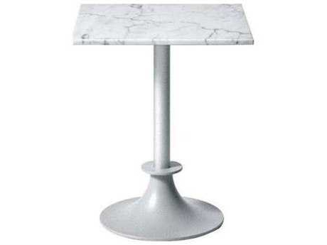 Tropitone Hpl Raduno Aluminum 42 Square Kd Pedestal Table Intended For Well Liked Anzum (View 15 of 25)