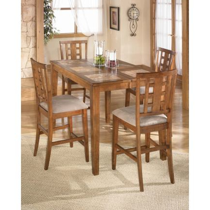 Tucker 5 Pc Counter Height Extension Table Setdining With Regard To Most Popular Counter Height Extendable Dining Tables (View 2 of 25)