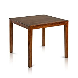Tylor Maple Solid Wood Dining Tables Pertaining To Latest Amazon: Counter Height Square Solid Maple Wood Table (View 6 of 25)