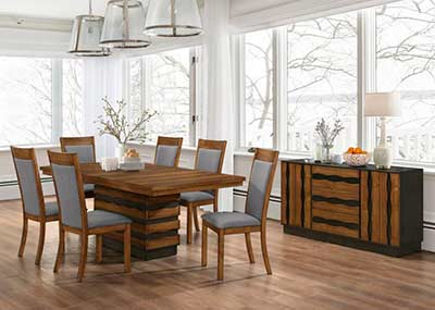Urban Transitional Dining In Well Known Drew (View 9 of 25)