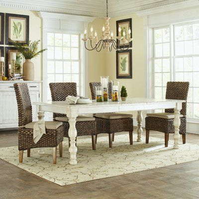 Valerie Pine Solid Wood Dining Table (View 24 of 25)