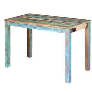Vidaxl Dining Table Living Room Kitchen Solid Reclaimed Intended For Popular Gunesh (View 9 of 25)