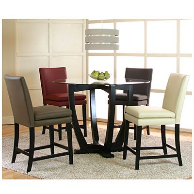 View Mix & Match Counter Height Dining Room 5 Piece Set Intended For 2019 Counter Height Dining Tables (View 10 of 25)